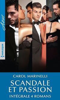 Télécharger le livre : Scandale et passion - Intégrale 4 romans