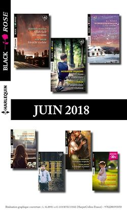 15 romans Black Rose (nº481 à 485 - Juin 2018)