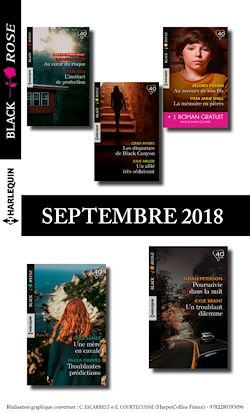 10 romans Black Rose + 1 gratuit (nº 495 à 499 - Septembre 2018)