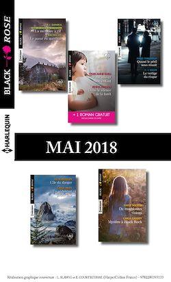 10 romans Black Rose + 1 gratuit (nº476 à 480 - Mai 2018)