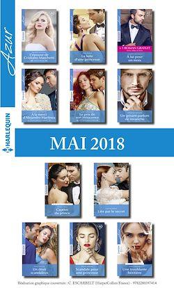 11 romans Azur + 1 gratuit (nº3949 à 3959 - Mai 2018)