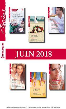 12 romans Passions (nº 725 à 730 - Juin 2018)