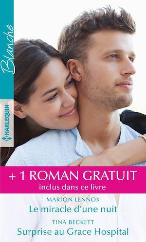 Téléchargez le livre :  Le miracle d'une nuit - Surprise au Grace Hospital - Un chirurgien amoureux