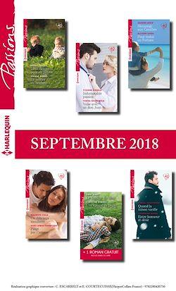 12 romans Passions + 1 gratuit (nº 743 à 748 - Septembre 2018)