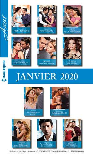 Téléchargez le livre :  Pack mensuel Azur : 11 romans + 1 gratuit (Janvier 2020)