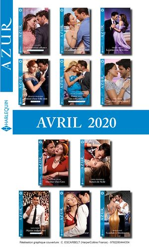 Téléchargez le livre :  Pack mensuel Azur : 11 romans + 1 gratuit (Avril 2020)