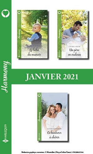 Téléchargez le livre :  Pack mensuel Harmony : 3 romans (Janvier 2021)