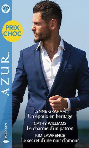 Téléchargez le livre :  Un époux en héritage - Le charme d'un patron - Le secret d'une nuit d'amour