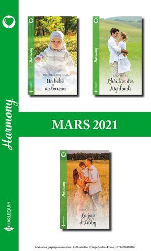 Téléchargez le livre :  Pack mensuel Harmony : 3 romans (Mars 2021)