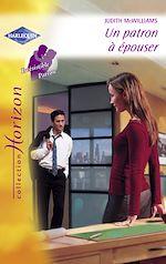 Télécharger le livre :  Un patron à épouser (Harlequin Horizon)