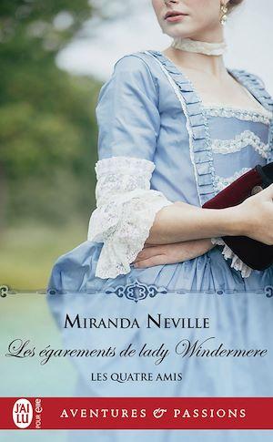 Téléchargez le livre :  Les quatre amis (Tome 3) - les égarements de lady Windermere