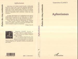 Téléchargez le livre :  Aphorismes