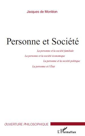 Téléchargez le livre :  Personne et Société