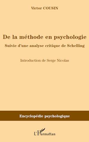 Téléchargez le livre :  De la méthode en psychologie