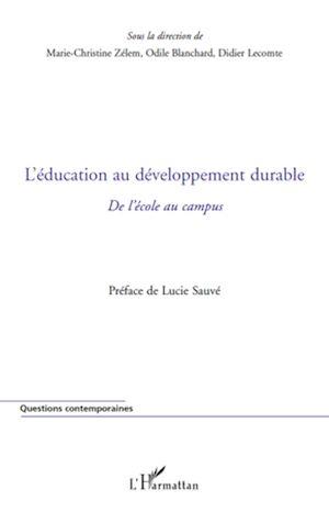 Téléchargez le livre :  L'éducation au développement durable