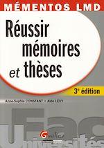 Télécharger le livre :  Méméntos LMD. Réussir mémoires et thèses - 3e édition