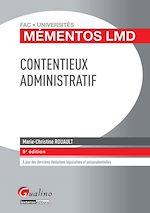 Télécharger le livre :  Contentieux administratif - 5e édition