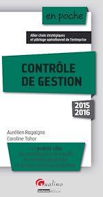 Télécharger le livre :  En poche - Contrôle de gestion 2015-2016