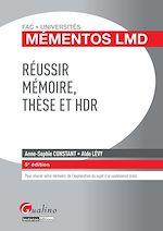 Télécharger le livre :  Mémentos LMD - Réussir mémoire, thèse et HDR