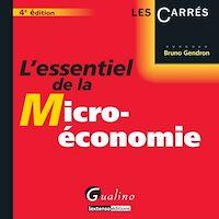 Télécharger le livre : L'essentiel de la micro-économie - 4e édition