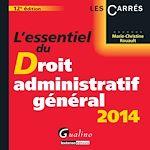 Télécharger le livre :  L'essentiel du droit administratif général 2014 - 12e édition