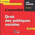 Télécharger le livre :  L'essentiel du droit des politiques sociales - 10e édition 2015-2016