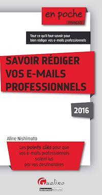 Téléchargez le livre numérique:  En poche - Savoir rédiger vos e-mail professionnels 2016