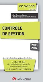 Télécharger le livre :  En poche - Contrôle de gestion 2016-2017 - 2e édition