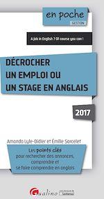 Télécharger cet ebook : En poche - Décrocher un emploi ou un stage en anglais 2017 - 2e édition