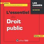Télécharger le livre :  L'essentiel du droit public 2017 - 3e édition
