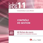 Télécharger le livre :  Les Carrés DCG 11 - Contrôle de gestion - 5e édition 2016-2017