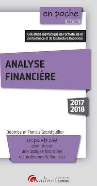 Télécharger le livre : En poche - Analyse financière 2017-2018 - 7e édition
