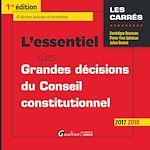 Télécharger cet ebook : L'essentiel des grandes décisions du Conseil constitutionnel 2017-2018
