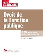 Télécharger cet ebook : Droit de la fonction publique