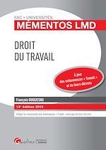 Télécharger le livre :  Mémentos LMD - Droit du travail 2018 - 13e édition