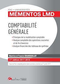 Télécharger le livre : Mémentos LMD - Comptabilité générale 2017-2018 - 17e édition