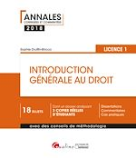 Télécharger le livre :  Introduction générale au droit 2018 - L1 - 2e édition