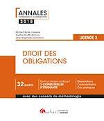 Télécharger le livre :  Droit des obligations 2018 - L2 - 2e édition