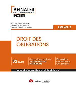 Téléchargez le livre :  Droit des obligations 2018 - L2 - 2e édition