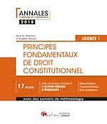 Télécharger le livre :  Principes fondamentaux de droit constitutionnel 2018 - L1-S1
