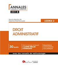 Télécharger le livre : Droit administratif 2018 - L2 - 2e édition