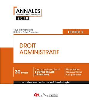 Téléchargez le livre :  Droit administratif 2018 - L2 - 2e édition