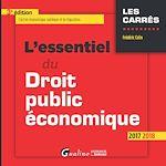 Télécharger le livre :  L'essentiel du droit public économique 2017-2018 - 3e édition