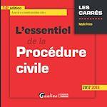 Télécharger le livre :  L'essentiel de la procédure civile 2017-2018 - 14e édition