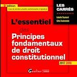 Télécharger le livre :  L'essentiel des principes fondamentaux de droit constitutionnel 2017-2018 - 5e édition