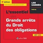 Télécharger le livre :  L'essentiel des grands arrêts du droit des obligations 2017-2018 - 9e édition