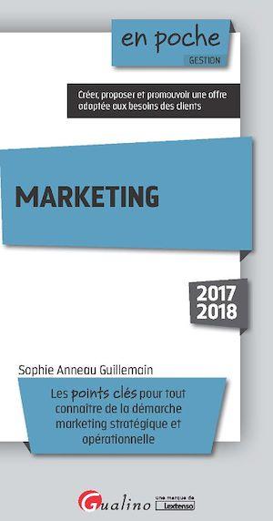 Téléchargez le livre :  En poche - Marketing 2017-2018 - 5e édition