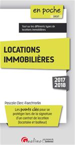 Télécharger le livre :  Locations immobilières 2017-2018 - 2e édition