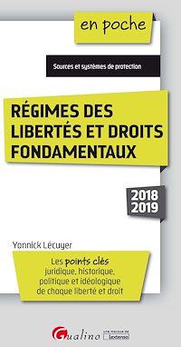 Télécharger le livre : Régimes des libertés et droits fondamentaux