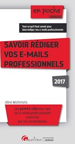 Télécharger cet ebook : Savoir rédiger vos e-mails professionnels 2017 - 4e edition